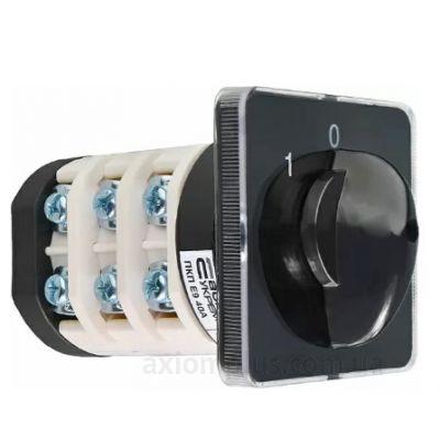 Кулачковый 3P поворотный переключатель 1-0-2 на 40А Аско-Укрем A0110010024