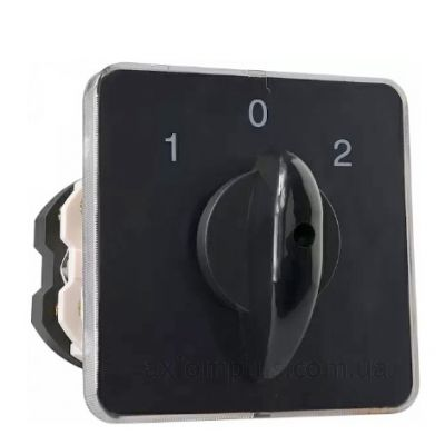 Кулачковый 3P поворотный переключатель 1-0-2 на 100А Аско-Укрем A0110010028