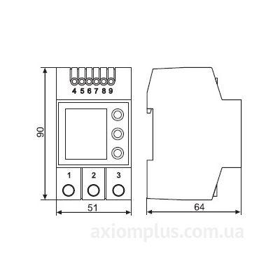 схема реле Vp-380 DigiTOP