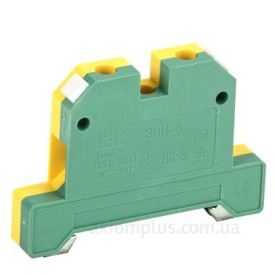 ЗНИ- 6 PEN IEK желто-зеленого цвета (на 2 контакта) (S <sub>провода</sub> до 6мм²) , I<sub>n</sub>=50А