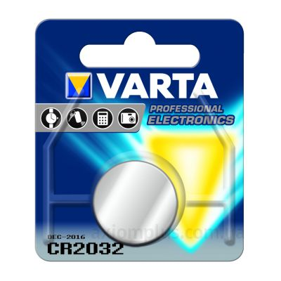 Фото Varta Lithium CR2032 - 6032101401