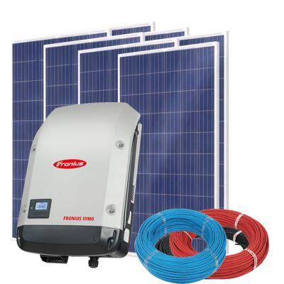 Солнечная электростанция на 3кВт из 11шт фотомодулей 17,9м² с инвертором FRONIUS SYMO 3.0-3-M