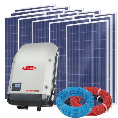 Солнечная электростанция на 10кВт из 36шт панелей 58,6м² с инвертором FRONIUS SYMO 10.0-3-M
