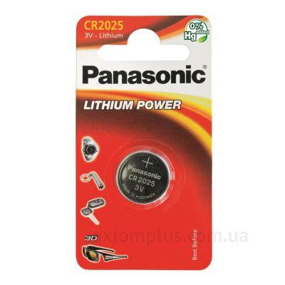 Изображение Panasonic CR-2025EL/1B - CR-2025EL/1B