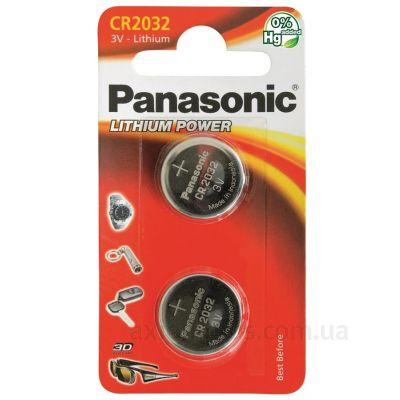 Фото Panasonic CR-2032EL/2B - CR-2032EL/2B