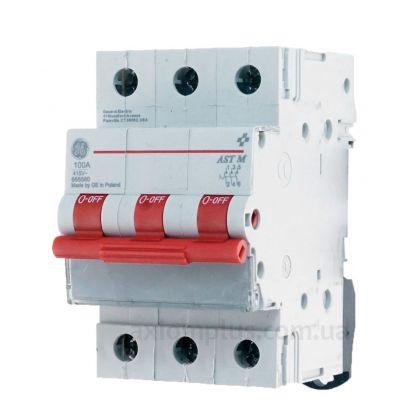 Модульный разрывной 3P выключатель нагрузки 0-1 на 100А General Electric 666560