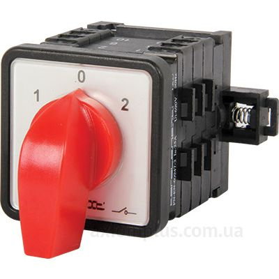 Кулачковый 3P поворотный переключатель 1-0-2 на 40А E.Next 8637-200