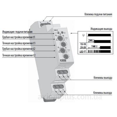 устройство реле времени SJR-2/230V