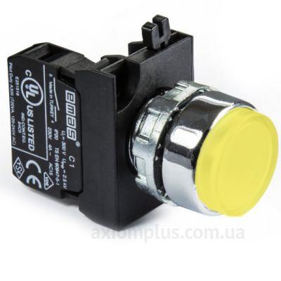 Кнопка EMAS (CM100HS) желтого цвета