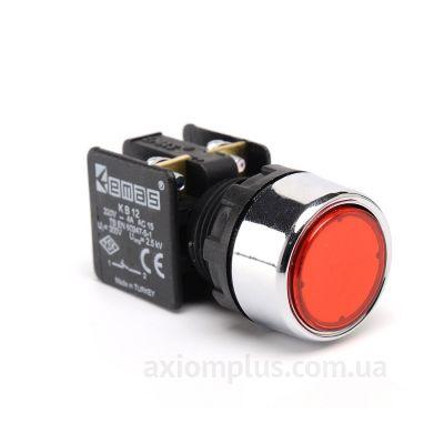 Кнопка EMAS (KB12DK) красного цвета