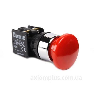 Кнопка EMAS (KB12MK) красного цвета