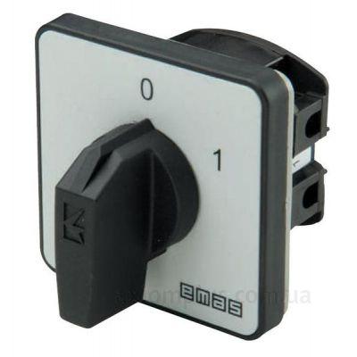 Кулачковый 1P поворотный переключатель 1-0-2 на 20А EMAS PS020ZE234