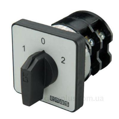 Кулачковый 1P поворотный переключатель 1-0-2 на 40А EMAS PS040KD134