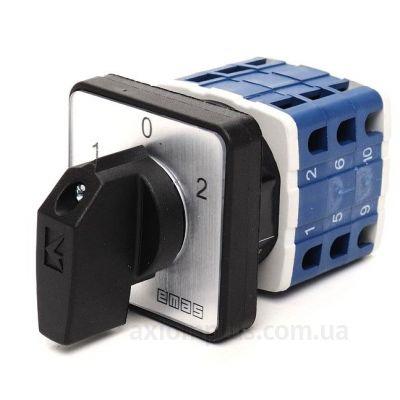 Кулачковый 3P поворотный переключатель 1-0-2 на 10А EMAS PSA010KD334S