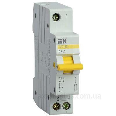 Выключатель нагрузки IEK MPR10-1-025 ВРТ (25A) (I-0-II)