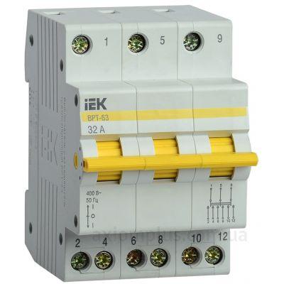 Выключатель нагрузки IEK MPR10-3-032 ВРТ (32A) (I-0-II)