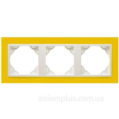 Фото Efapel серии Logus 90. Animato 90930 TRG желтого цвета