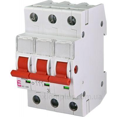 Модульный разрывной 3P выключатель нагрузки 0-1 на 80А ETI 2423315