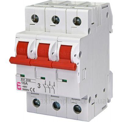 Модульный разрывной 3P выключатель нагрузки 0-1 на 16А ETI 2423321
