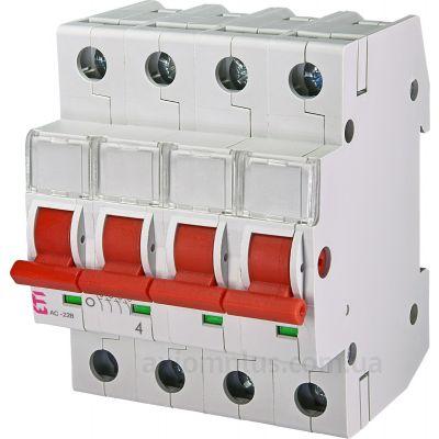 Модульный разрывной 4P выключатель нагрузки 0-1 на 80А ETI 2423415