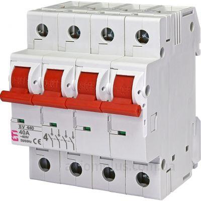 Модульный разрывной 4P выключатель нагрузки 0-1 на 40А ETI 2423423