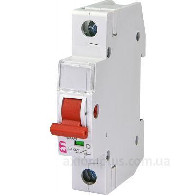 Модульный разрывной 1P выключатель нагрузки 0-1 на 80А ETI 2423115