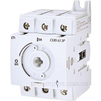 Модульный разрывной 3P выключатель нагрузки 0-1 на 80А ETI 4661404