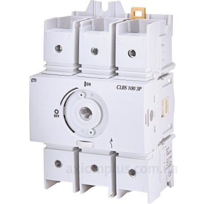Модульный разрывной 3P выключатель нагрузки 0-1 на 100А ETI 4661405