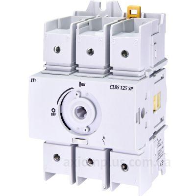 Модульный разрывной 3P выключатель нагрузки 0-1 на 125А ETI 4661406