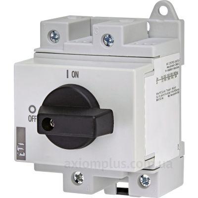 Модульный разрывной 2P выключатель нагрузки 0-1 на 16А ETI 4660060
