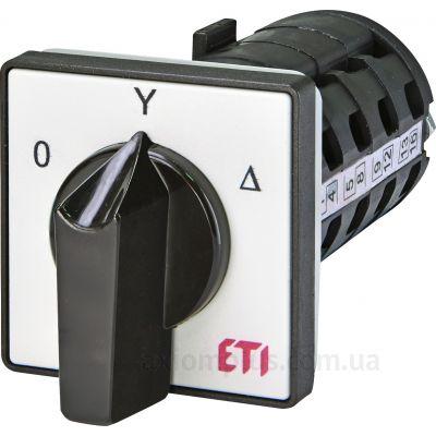 Кулачковый 4P поворотный переключатель 0-Δ-Y на 100А ETI 4773138