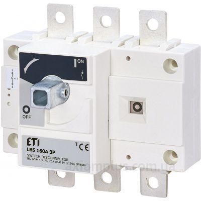 Модульный разрывной 3P выключатель нагрузки 0-1 на 160А ETI 4661450