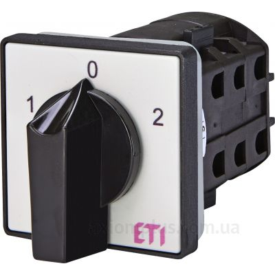Кулачковый 3P поворотный переключатель 1-0-2 на 32А ETI 4773141