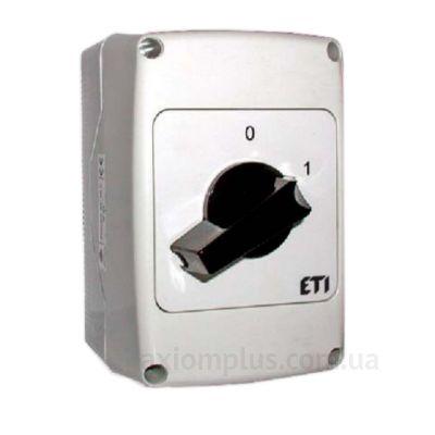Корпусный кулачковый 4P поворотный переключатель 0-1 на 40А ETI 4773172