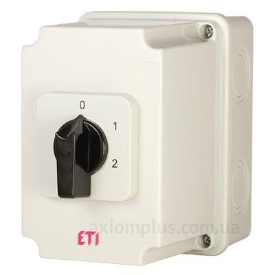 Корпусный кулачковый 3P поворотный переключатель 1-0-2 на 40А ETI 4773215