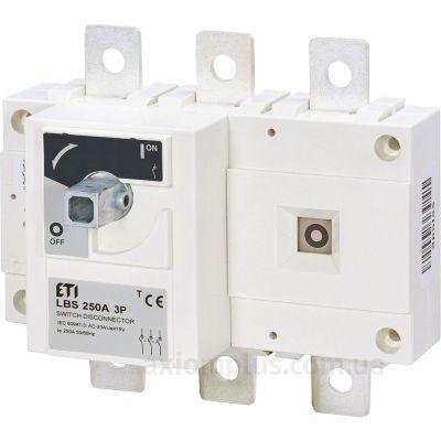 Модульный разрывной 3P выключатель нагрузки 0-1 на 250А ETI 4661451