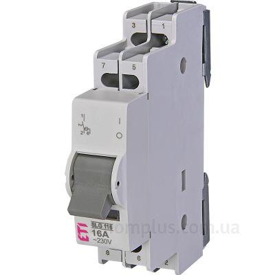 Модульный разрывной 3P выключатель нагрузки 0-1 на 16А ETI 760231104