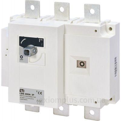 Модульный разрывной 3P выключатель нагрузки 0-1 на 400А ETI 4661452