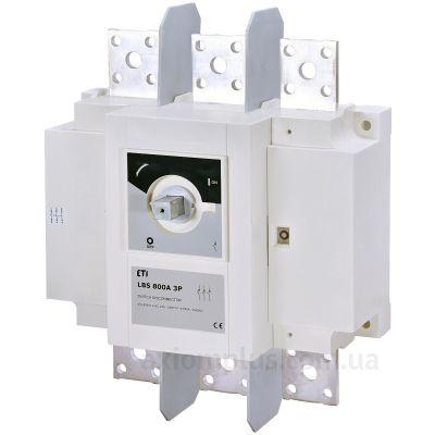 Модульный разрывной 3P выключатель нагрузки 0-1 на 800А ETI 4661454