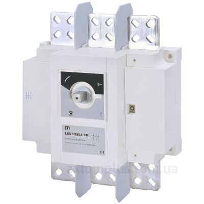 Модульный разрывной 3P выключатель нагрузки 0-1 на 1250А ETI 4661456