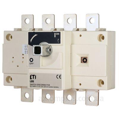 Модульный разрывной 4P выключатель нагрузки 0-1 на 800А ETI 4661465