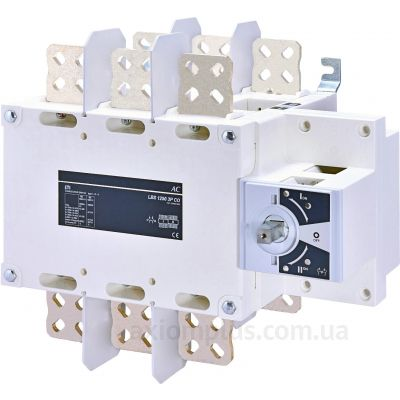 Модульный перекидной 3P рубильник 1-0-2 на 1250А ETI 4661556