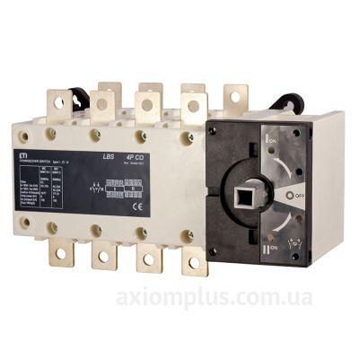 Модульный перекидной 4P поворотный переключатель 1-0-2 на 400А ETI 4661563