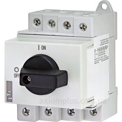 Модульный разрывной 4P выключатель нагрузки 0-1 на 32А ETI 4660065