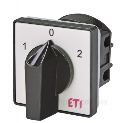 Кулачковый 1P поворотный переключатель 1-0-2 на 25А ETI 4773105