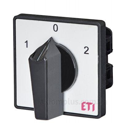 Кулачковый 1P поворотный переключатель 1-0-2 на 32А ETI 4773106