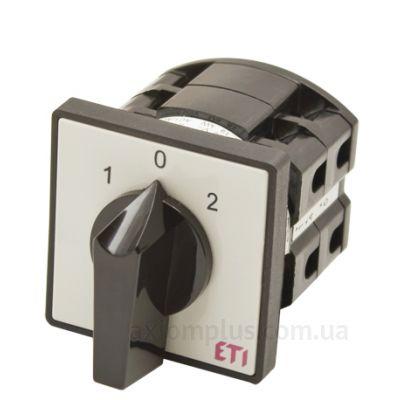 Кулачковый 1P поворотный переключатель 1-0-2 на 40А ETI 4773107
