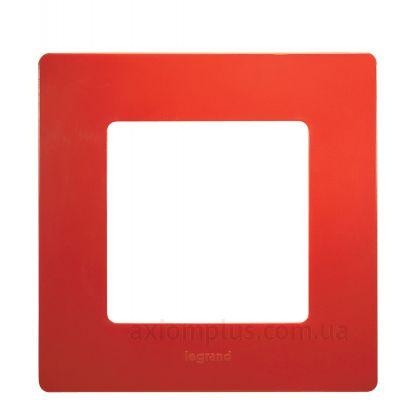 Изображение Legrand серии Etika 672531 красного цвета