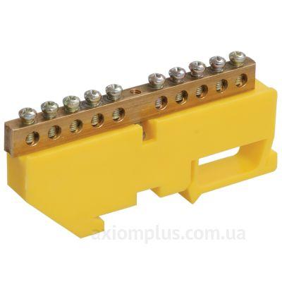 Шина (PE) ШНИ-6х9-18-Д-Ж 100А (18 контактов контактов) (желтый цвет) фото