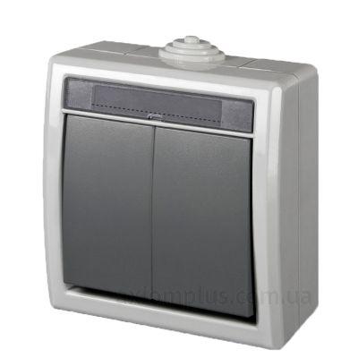 Изображение Elektro-Plast серии Aquant 1202-10 серого цвета